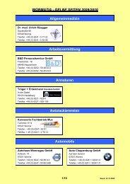 WORMATIA - GELBE SEITEN 2009/2010 ... - Wormatia Worms