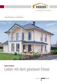 prospekt haas musterhaus villa florenz - Haas Fertighaus