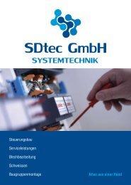Wirtschaftliche Baugruppenfertigung - darauf kommt ... - SDtec GmbH