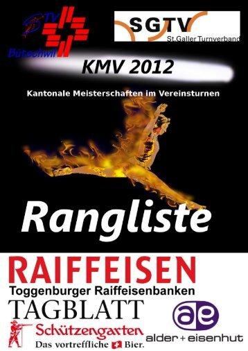 Rangliste - STV Bütschwil