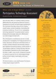 Participatory Technology Assessment