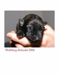 Wolfsfang-Kalender 2008