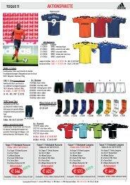 TOQUE TRIKOTPAKET - Burdenski Sportswear