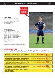 aktionspaket tiro trikots - Burdenski Sportswear
