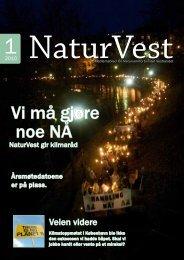 Vi må gjøre noe NÅ - Norges Naturvernforbund