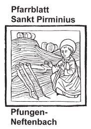 Pfarrblatt Sankt Priminius Pfungen-Neftenbach