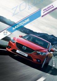 Mazda6 prijslijst per januari 2013