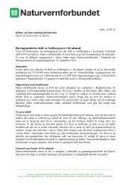 Høringsuttalelse drift av kobbergruve i Kvalsund - Norges ...