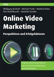 Online Video Marketing Perspektiven und ... - Buchhandel.de