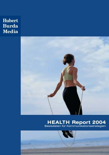 HEALTH Report 2004 - burda-advertising-center.com