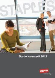 Burde kalenterit 2012 - Staples
