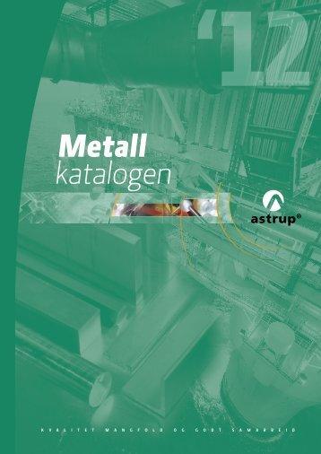 Metall katalogen - Astrup AS