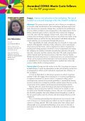 Awarded COFAS Marie Curie fellows – For the FIIP programme - Page 3