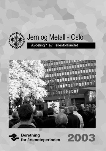 Jern og Metall - Oslo - Fellesforbundet