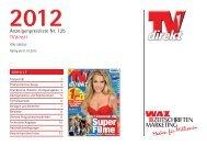 TV direkt 2012 - WAZ ZEITSCHRIFTEN MARKETING GmbH & Co. KG