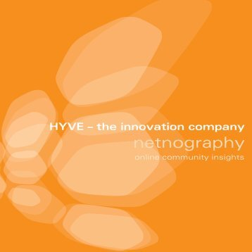 netnography - Hyve AG
