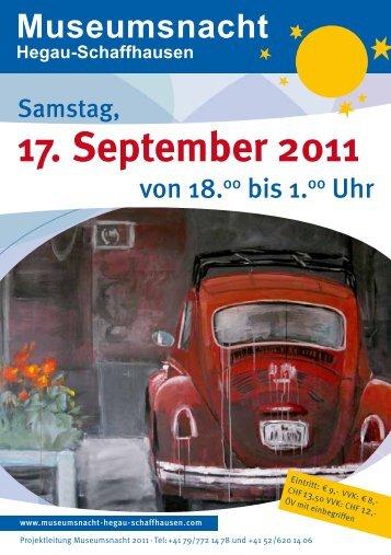Tour - Museumsnacht Hegau-Schaffhausen