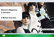 Women's magazines in Germany A market overview - Blei