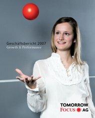 Konzern-Gewinn - Tomorrow Focus AG