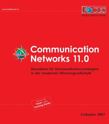 Communication Networks 11.0 - FOCUS MediaLine