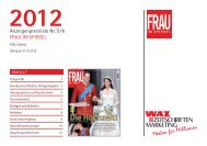 Frau im Spiegel 2012 (2).indd - WAZ Zeitschriften Marketing