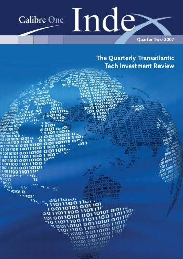 The Quarterly Transatlantic Tech Investment Review - Calibre One