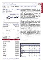 15.08.2007 / News-Flash - OnVista Group
