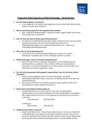 FAQs Bewerbungsverfahren - Hubert Burda Media