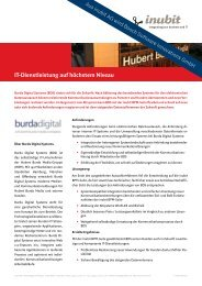 Burda Digital Systems - Bosch Software Innovations