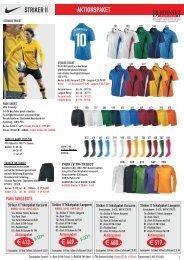 STRIKER II TRIKOTPAKET.cdr - Burdenski Sportswear