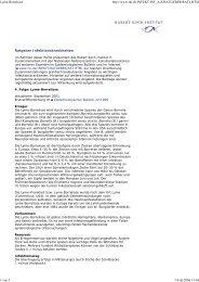 Lyme-Borreliose http://www.rki.de/INFEKT/INF_A-Z/RATGEBER ...