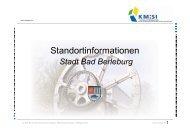 KM:SI-Standortinfo Bad Berleburg - Kompetenzregion Mittelstand ...