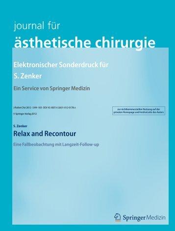 ästhetische chirurgie - Dr. Zenker Dermatologie