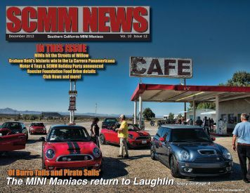 The December 2012 Newsletter is now available! - SCMM