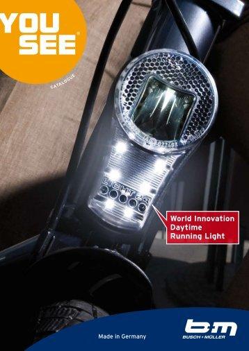 World Innovation Daytime Running Light - Busch & Müller