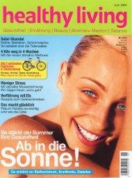 healthy living - Dr. Zenker Dermatologie