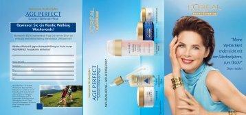 A G E PERFECT AGE PERFECT - Dr. Zenker Dermatologie