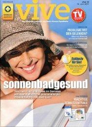 Vive Juni 2011 - Dr. Zenker Dermatologie