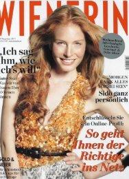 Wienerin Dec. 2011 - Dr. Zenker Dermatologie