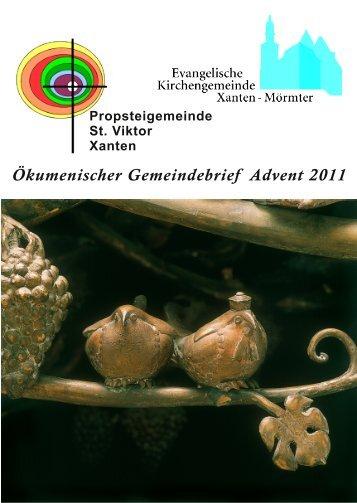 """Ökum. Gemeindebrief """"Lichtblick"""" Dezember 2011 - Evangelische ..."""
