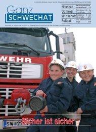 0508 Mai Ausgabe - Stadtgemeinde Schwechat