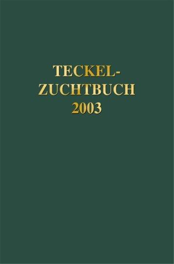 Teckel-Zuchtbuch - Landesverband Sachsen-Anhalt im DTK 1888 eV