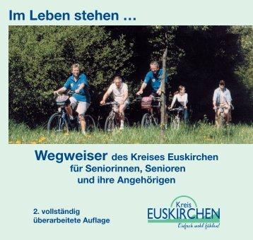 Wegweiser des Kreises Euskirchen für Seniorinnen ... - Sen-Info