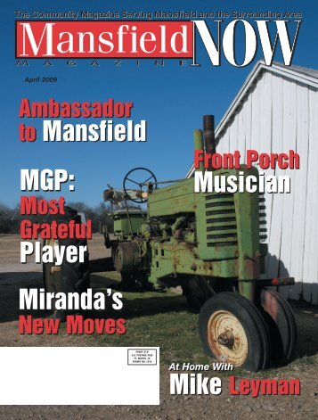 Musician Musician to Mansfield to Mansfield ... - Now Magazines