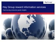 Download Hay Group's 2011 Industry Insights for fast