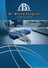 Company Profile - Dr. Bruno Surgical