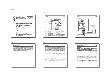 busch jaeger elektro gmbh e katalog archiv. Black Bedroom Furniture Sets. Home Design Ideas