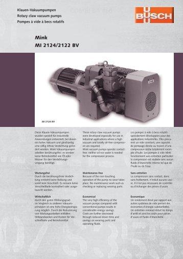 Mink MI 2124-2122 BV.indd - Ing. K. Busch GmbH