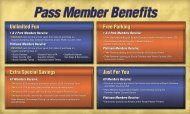 Members Receive - Busch Gardens Group Events