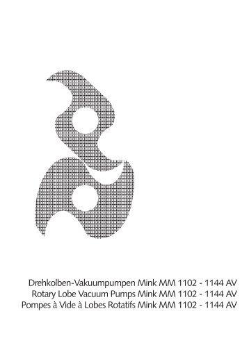Drehkolben-Vakuumpumpen Mink MM 1102 - 1144 AV Rotary Lobe ...